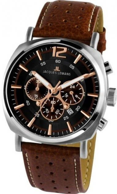 Мужские часы JACQUES LEMANS 1-1645.1K - изображение 1