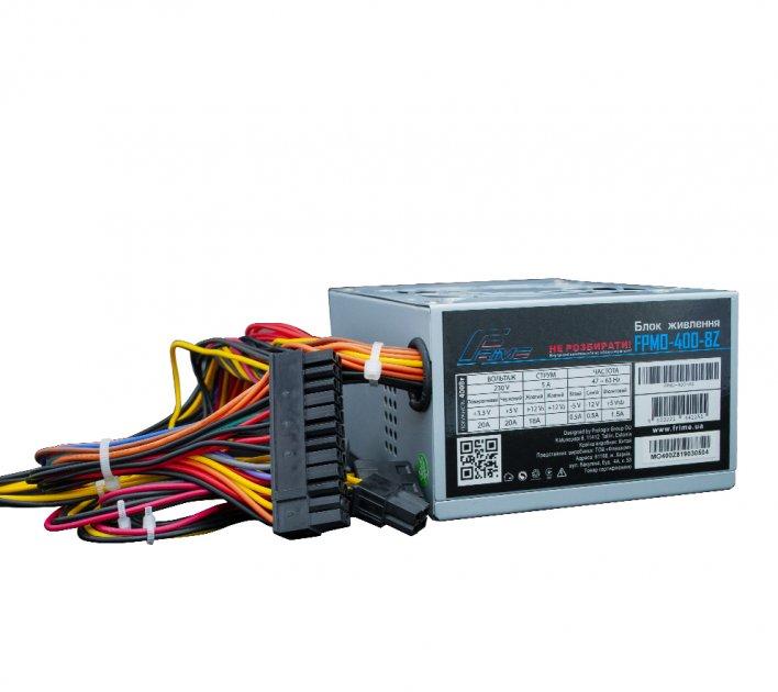 Блок Живлення Frime Micro-ATX FPMO-400-8Z; 8см Micro-ATX, 2 hdd, sata 2 - зображення 1