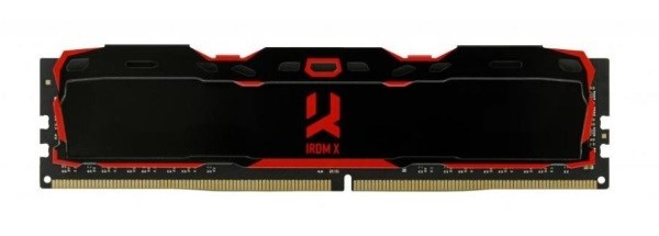 Пам'ять DDR4 RAM 8GB GOODRAM 2666MHz PC4-21300 Iridium Black (IR-X2666D464L16S/8G) - изображение 1
