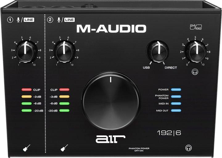 Аудіоінтерфейс M-Audio Air 192x6 (AIR192x6) - зображення 1