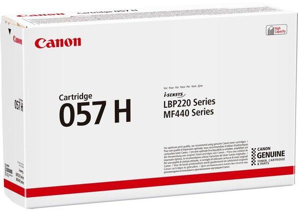 Картридж Canon 057H LBP223dw/226dw/228x/MF443dw/445dw/446X/MF449X Black (3010C002) - зображення 1