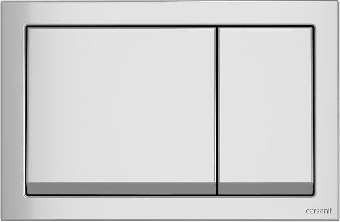 Панель смыва CERSANIT Enter K97-367 хром матовый - изображение 1