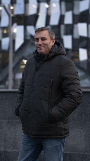 Зимняя куртка Miorichi KM-8.1 58 Хаки (m01064-green58) - изображение 1