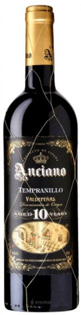 Вино Anciano Gran Reserva Tempranillo 10 Лет красное сухое 0.75 л 13% (5060108905145\5060108901666) - изображение 1