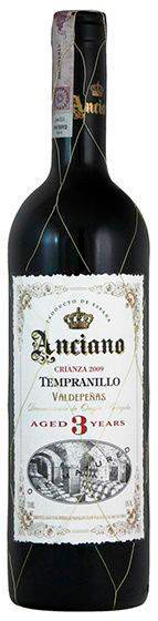 Вино Anciano Crianza Tempranillo 3 Года красное сухое 0.75 л 13% (5060108901741) - изображение 1