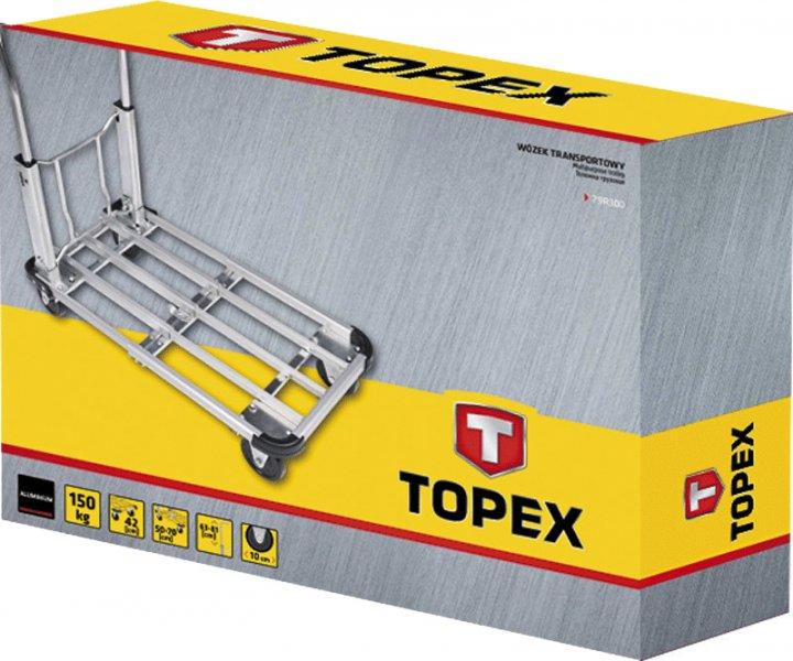 Платформенная тележка TOPEX складная 150 кг (79R300)