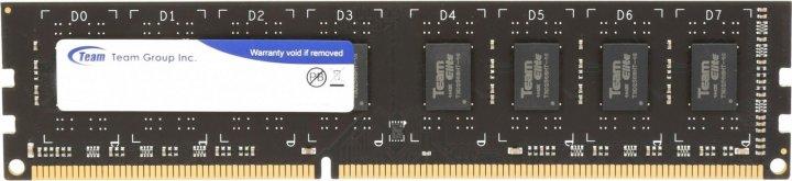 Оперативная память DDR4 8Gb 2400 MHz, Team Elite, 16-16-16, 1.2V (TED48G2400C16BK/01) - изображение 1