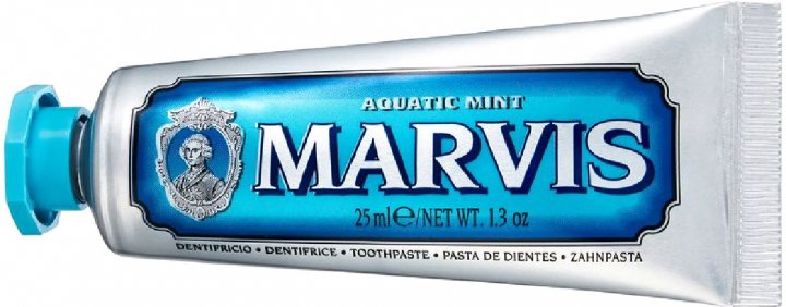Зубная паста Marvis Морская мята 25 мл (8004395110315) - изображение 1