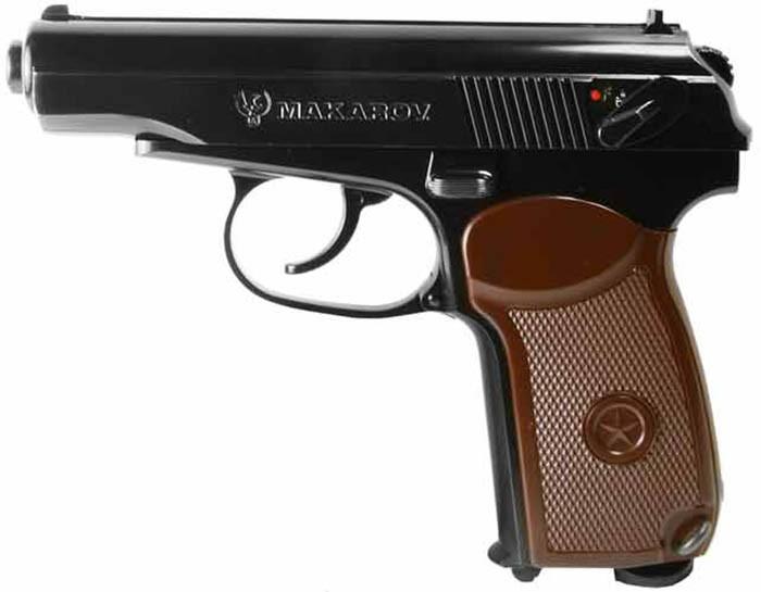 Пістолет пневматичний SAS Makarov Blowback. Корпус - метал. 23702441 - зображення 1