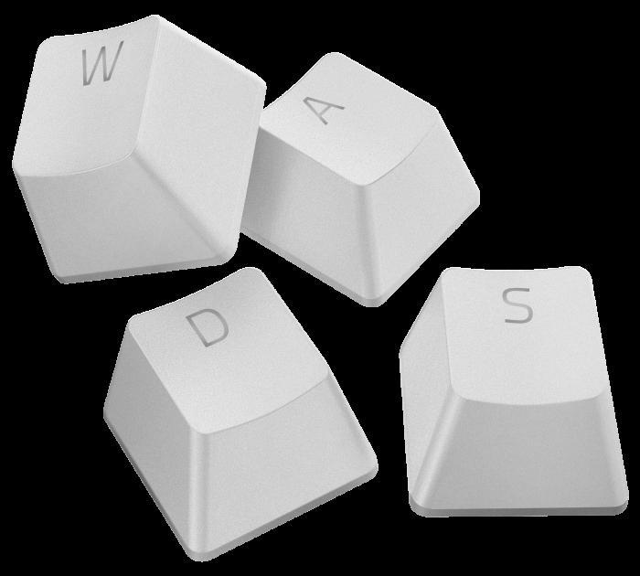 Набір кейкапів для клавіатури Razer PBT Mercury Edition 120 pcs (RC21-01490200-R3M1) - зображення 1
