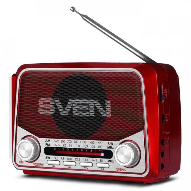 Радіоприймач SVEN - SRP-525-RED - зображення 1