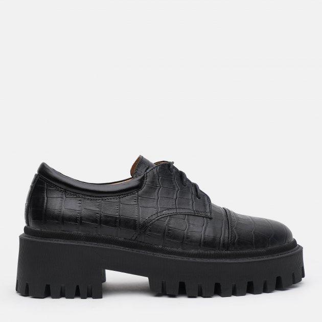 Туфли LeoModa 21115/1/2 39 (25 см) Черные (2000000000565)
