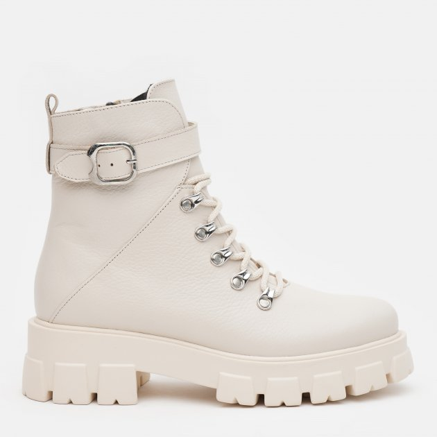 Ботинки LeoModa 58_330 38 (24.5 см) Бежевые (2000000000619)