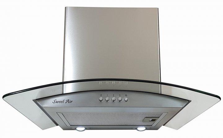 Вытяжка Sweet Air HC 536 Smart - 1200 LED + гофротруба в комплекте нержавеющая сталь - изображение 1