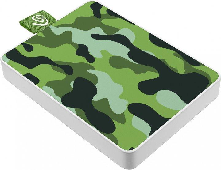 "Seagate One Touch SSD 500GB 2.5"" USB 3.0 Camo Green (STJE500407) External - зображення 1"