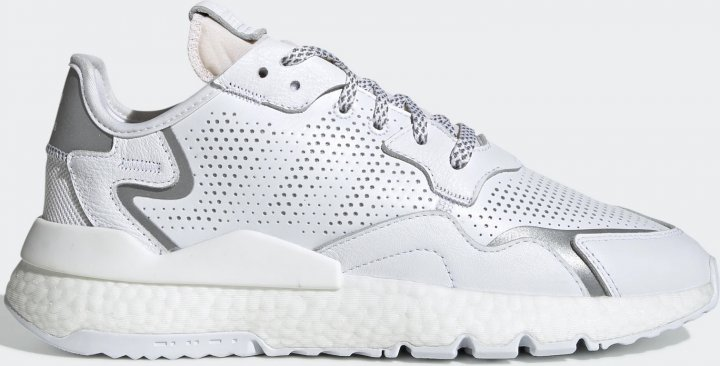 Кросівки Adidas Originals Nite Jogger EF5401 44.5 (11UK) 29.5 см Ftwr White (4062053004837) - зображення 1