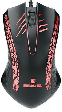 Миша Real-El RM-503 USB Black (EL123200024) - зображення 1
