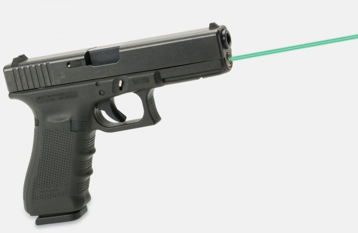Целеуказатель LaserMax для Glock17/34 GEN4 зелений. 33380021 - зображення 1