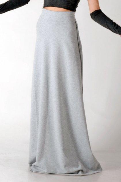 Юбка трапеция, SHA Odessa, 16-011, XL, cветло-серая - изображение 1