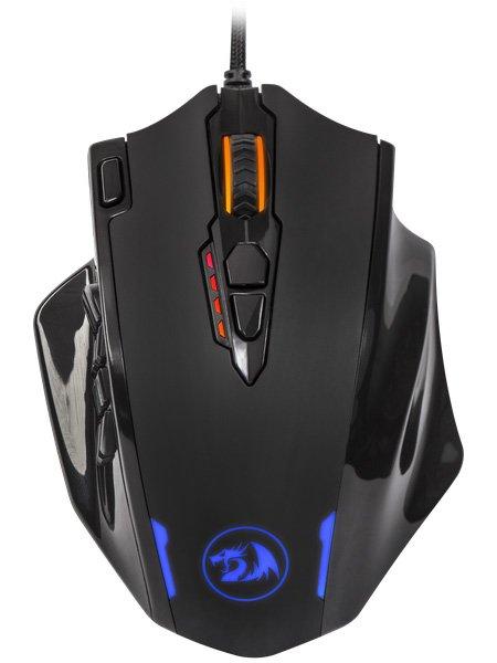 Мышь Redragon Impact RGB IR USB Black (78322) - изображение 1