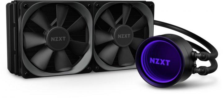 Система рідинного охолодження NZXT Kraken X63 — 280 мм AIOLiquid Cooler with RGB LED (RL-KRX63-01) - зображення 1