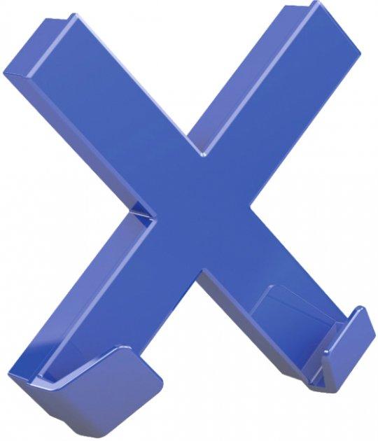 Магнит Dahle Mega Cross 90х90 мм Синий (4009729067994)