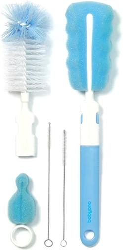 Набор BabyOno 735/01 для чистки бутылок и сосок Синий (113102) - изображение 1