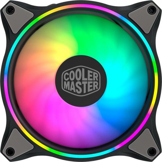 Кулер Cooler Master MasterFan MF120 HALO RGB 3 шт (MFL-B2DN-183PA-R1) - изображение 1