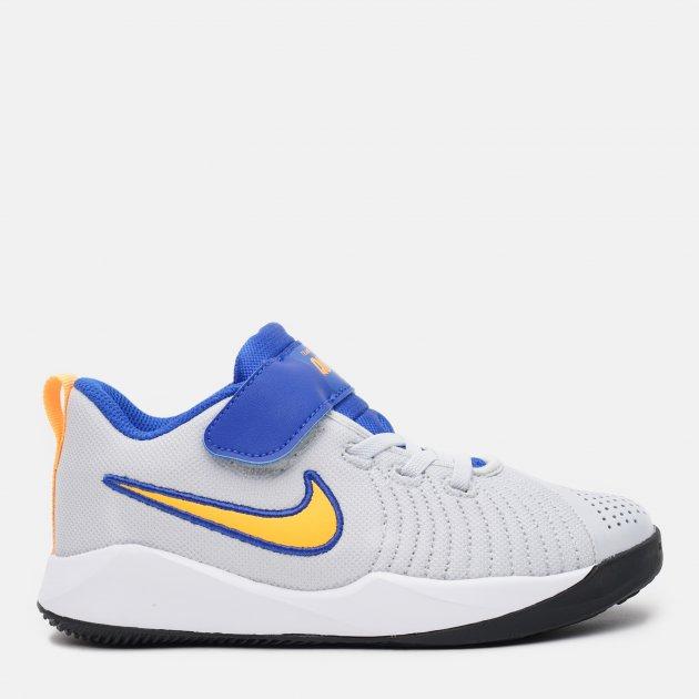 Кросівки Nike Team Hustle Quick 2 (Ps) AT5299-011 31.5 (13.5C) 19.5 см Чорні (194494231092) - зображення 1