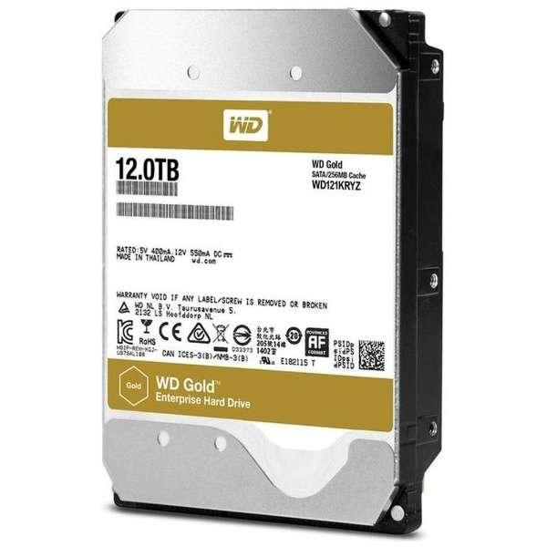 Жорсткий диск WD GOLD 12TB ENTERPRISE 7.2 K 6G 3.5 INCH SATA HDD (WD121KRYZ) Нове - зображення 1
