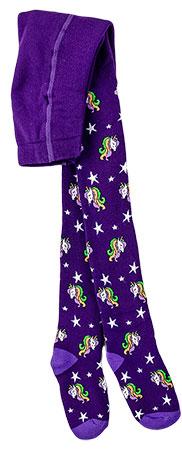 Махрові колготки теплі для дівчинки BROSS 17947 98 - 104 см бузковий (126571) - зображення 1