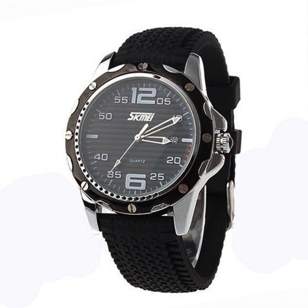 Чоловічий годинник Skmei 0992CS Black BOX (0992CSBOXBK) - зображення 1