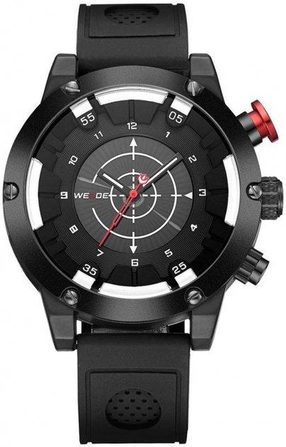 Мужские часы Weide All Black WH6301B-1C (WH6301B-1C) - изображение 1