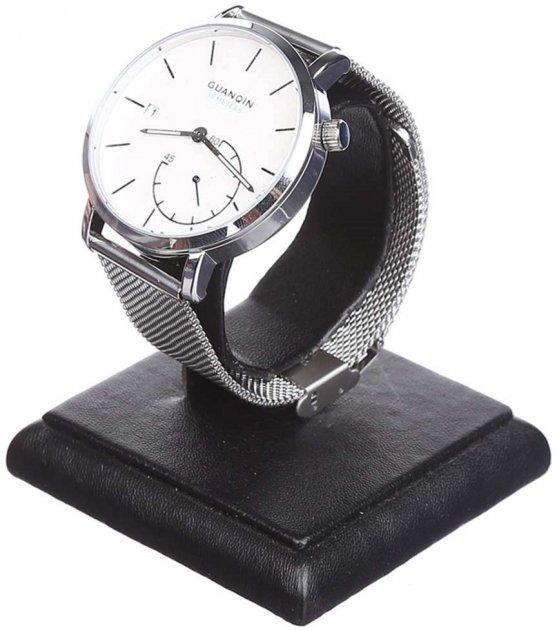 Чоловічий годинник Guanqin Silver-White-Silver GS19083 CS (GS19083SWS) - зображення 1