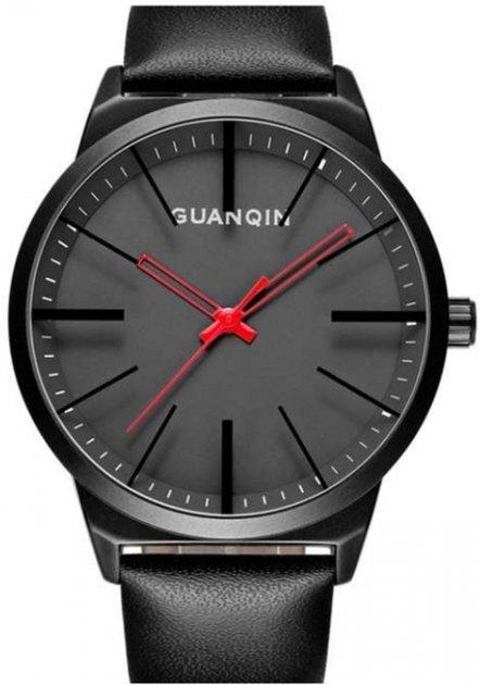 Мужские часы Guanqin Black-Black-Black GS19073 CL (GS19073BBBL) - изображение 1