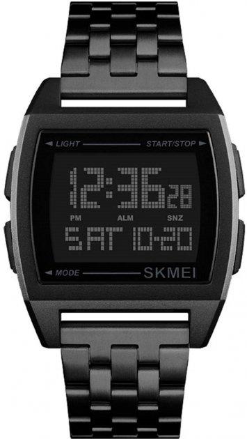 Мужские часы Skmei 1368 Black BOX (1368BOXBK) - изображение 1