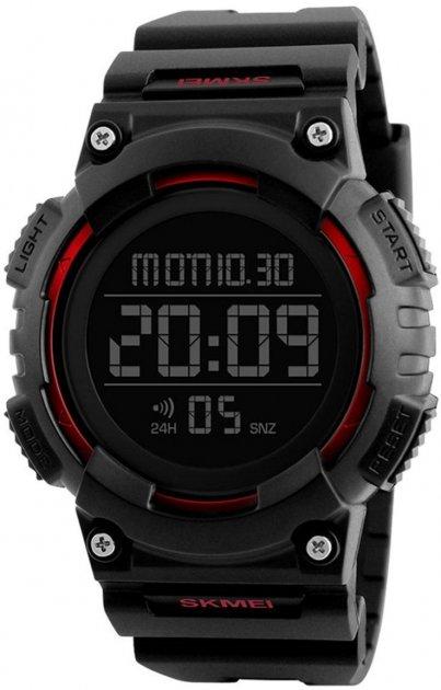 Мужские часы Skmei 1248 Bk-Red BOX (1248BOXBKRD) - изображение 1