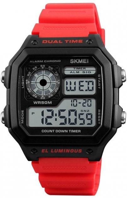 Чоловічий годинник Skmei 1299 Red BOX (1299BOXRD) - зображення 1