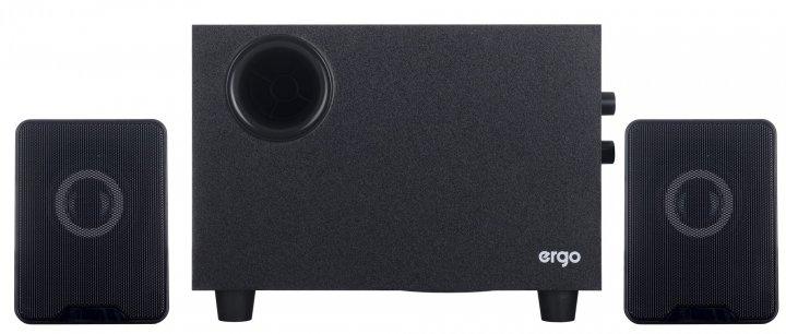 Мультимедийная акустика Ergo ST-29 220V 2.1 Black (ST-29) - изображение 1