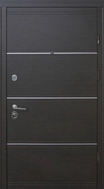 Входная дверь Straj Мела D (950х2040) мм белая рама квартира - изображение 1
