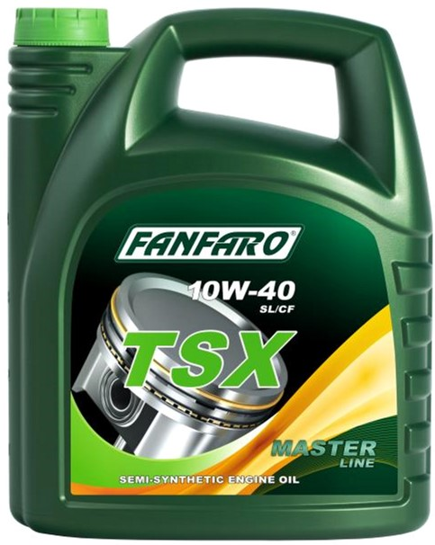 Моторное масло FanFaro TSX SL/CF 10W-40 5 л (690/5) - изображение 1