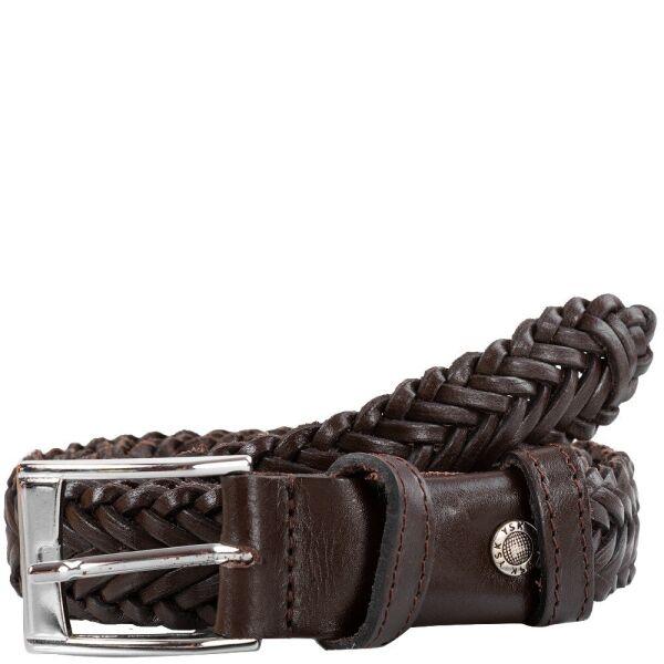 Мужской кожаный плетеный ремень Y.S.K shi3-9301-2 - изображение 1