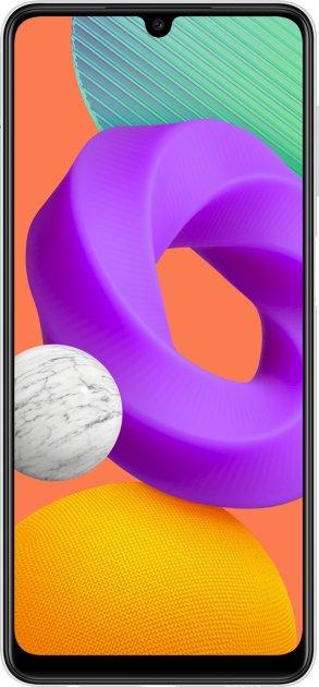 Мобильный телефон Samsung Galaxy M22 4/128GB White (SM-M225FZWGSEK) - изображение 1