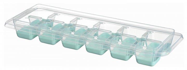 Форма для льоду Ardesto Fresh з кришкою 12 секцій Блакитний тіффані (AR1101TP) - изображение 1