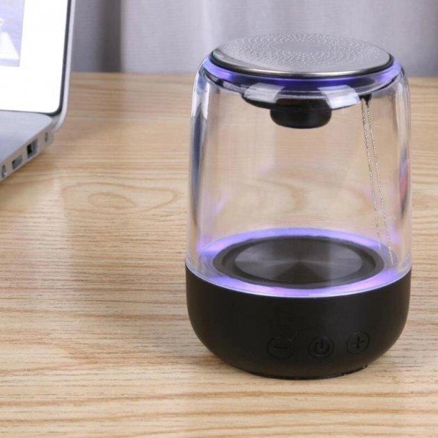 Портативна колонка YAYUSI C 7 Portable Bluetooth Speaker Black (чорний) - зображення 1
