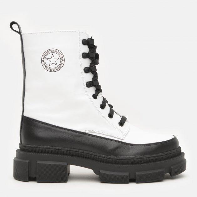 Ботинки Konors М 3685-1.25-1.19 40 25,6 см Белый/Черный (KN2000000488684)