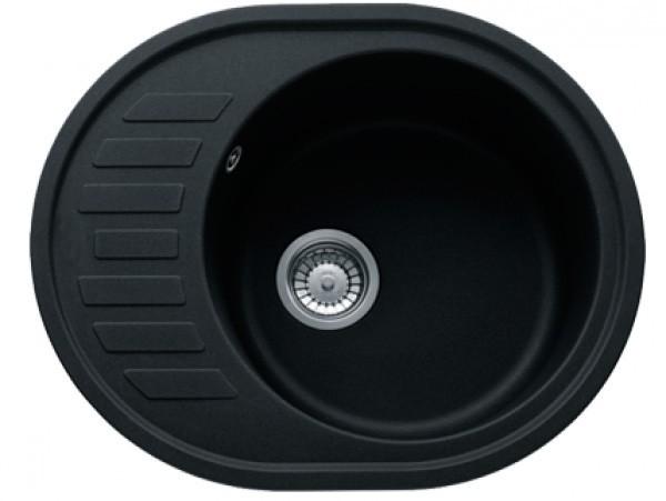 Кухонна мийка VERONA №4 620х500 мм, графіт - зображення 1