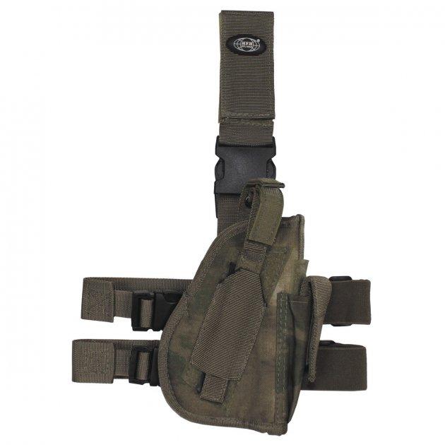 Кобура для пістолета стегновий регульована правобічна MFH HDT-camo FG (30725E) - зображення 1