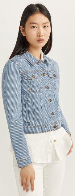 Куртка джинсовая Springfield 8277575-14 S (8433575230008) - изображение 1