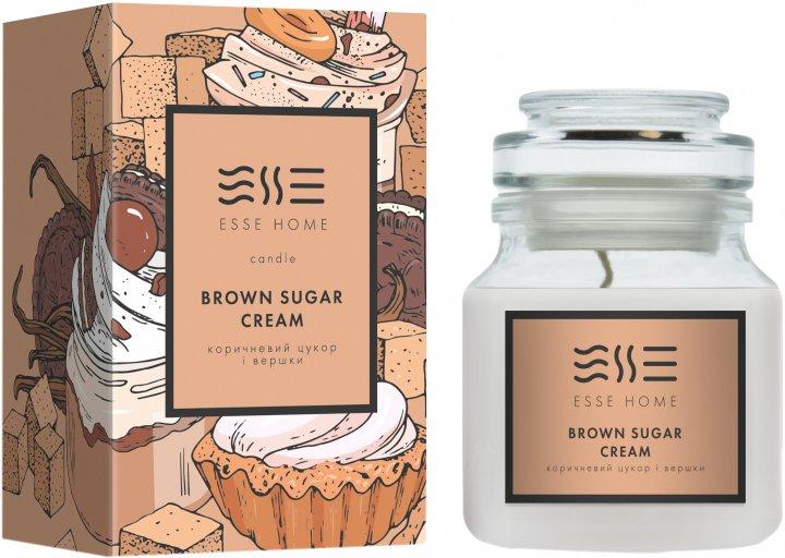 Свеча Esse серии Esse Home Brown Sugar Cream 150 г ( C-BS ) (4820239120982) - изображение 1